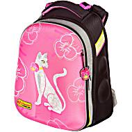 Школьный рюкзак - ранец HummingBird Teens Белая Кошка - арт. T47