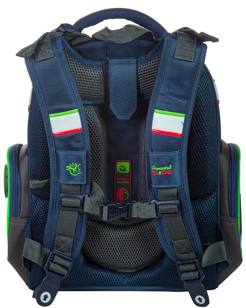 Школьный рюкзак Hummingbird TK49 Звезда футбола - официальный с мешком для обуви, - фото 3