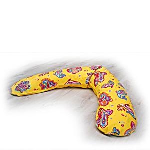 Подушка для беременных и кормящих Theraline Тералайн Германия 190 см Узор жёлтый