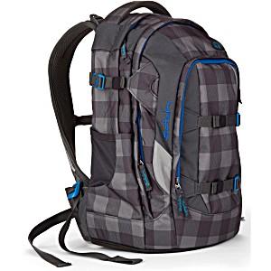 Рюкзак для мальчика Satch Pack SAT-SIN-001-9B0 Check Grey Black